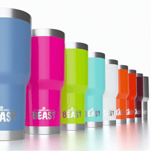 Greens Steel BEAST Tumblers - 17 color choices