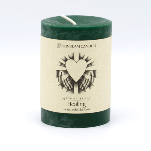 Healing Beeswax Candle - Aromatherapy - Made in USA - 4 The Greater Good