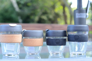 The KeepCup is available in 3 sizes to take that perfect cup of coffee or tea on the go