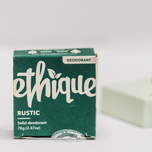 Plastic Free All Natural Deodorant - Ethique Deodorant Bar