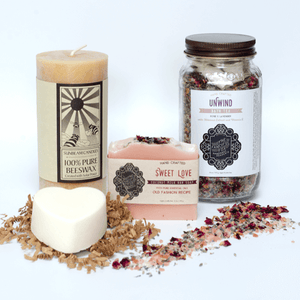 At Home Spa Kit - Natural Ingredients - Zero Waste