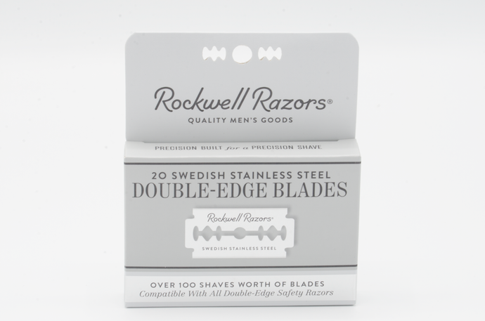 Safety Razor - Replacement Blades - 100% Stainless Steel