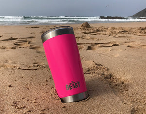 20 oz Beast tumblers are reusable and perfect for on the go