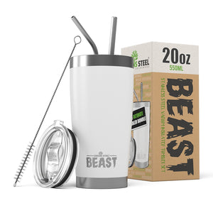 20 oz Greens Steel Beast tumblers