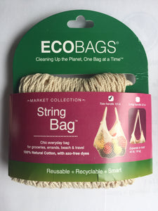 Ecobags Cotton String reusable bag