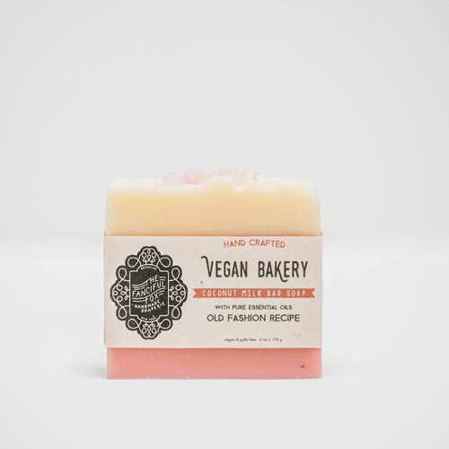 Vegan Palm Oil Free Soap - Vegan Bakery - Coconut Milk Bar Soap