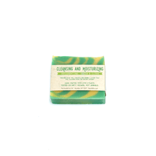 Vegan Palm Oil Free Body Soap - Eucalyptus Lemongrass - Fanciful Fox