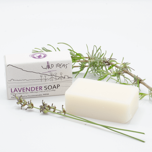 Palm Oil Free Bar Soap - Wild Ideas - Lavender
