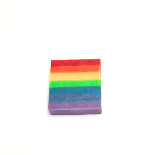 Vegan Palm Oil Free Bar Soap - Rainbow