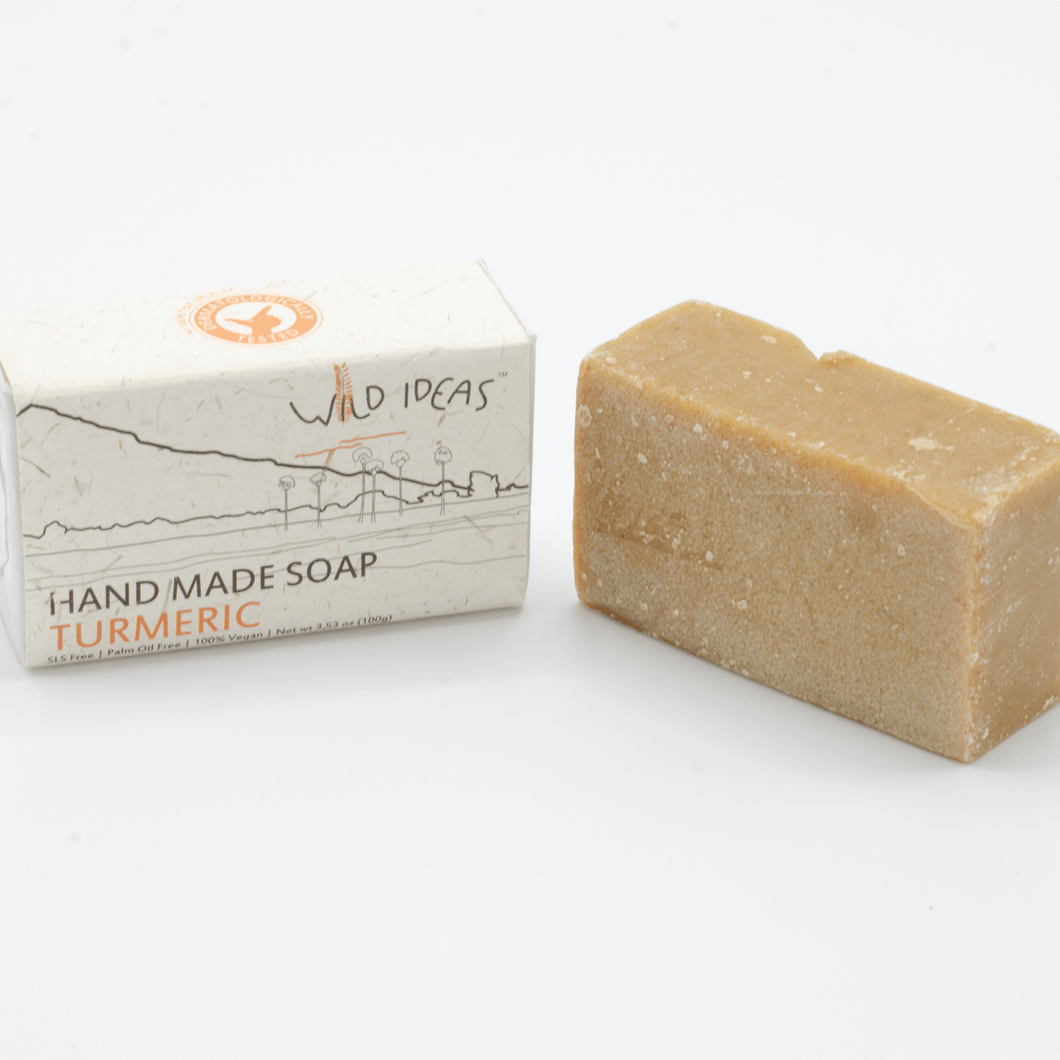 Palm Oil Free Bar Soap - Wild Ideas - Turmeric