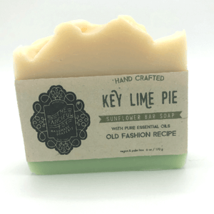 Vegan Palm Oil Free Bar Soap - Fanciful Fox - Key Lime Pie