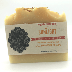 Vegan Palm Oil Free Bar Soap - Fanciful Fox - Sunlight