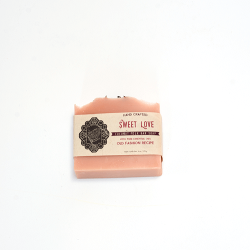 Vegan Palm Oil Free Body Soap - Organic Coconut Oil Soap Bar -