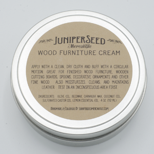 Wood Furniture Cream - All Natural Ingredients