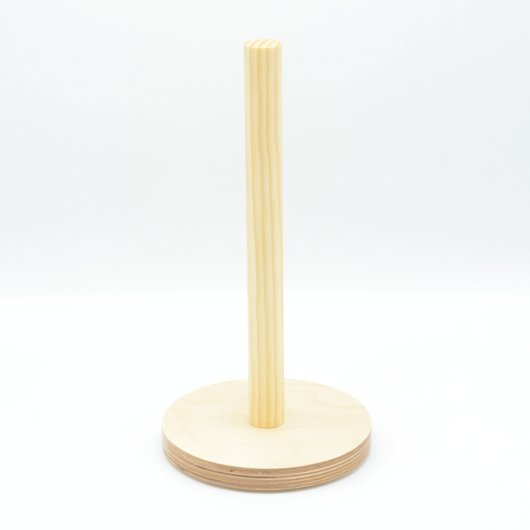 Wood Paper Towel Holder Made In Usa 4 The Greater Good