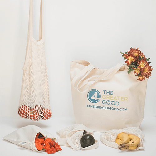 Zero Waste Farmers Market Bag Kit