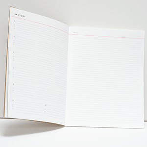 2021 Zero Waste Planner - 100% Recyclable Planner - Plastic Free Yearly Planner