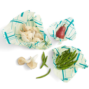 Beeswax variety 3 pack wraps are organic and plastic free