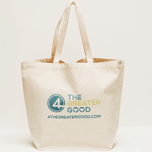 Recycled Cotton - 4 The Greater Good Shopping Tote