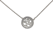 Ava Necklace silver