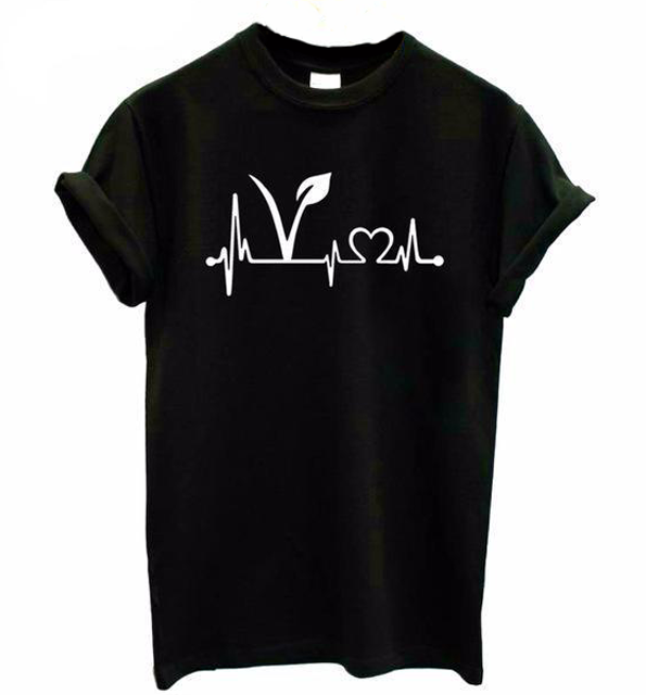 Vegan Heartbeat - T-shirt