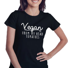Vegan From My Head Tomatoes - T-Shirt