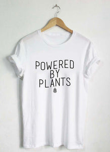Powered By Plants Ver.2 - T-Shirt