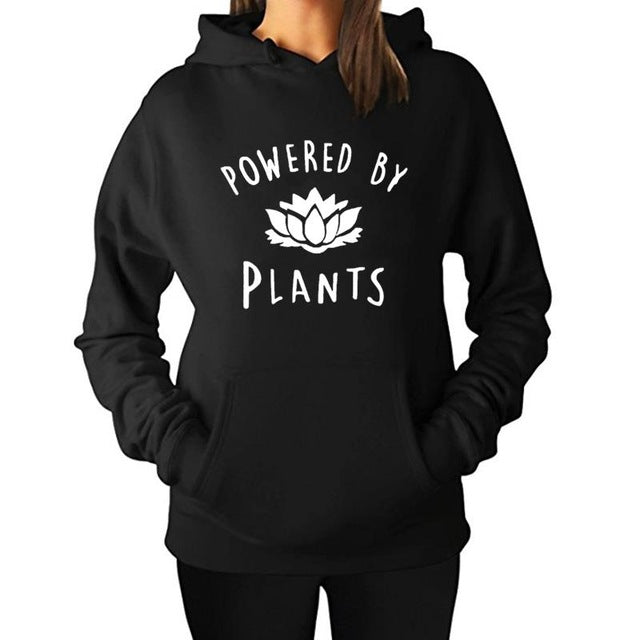 Powered by Plants - Hoodie
