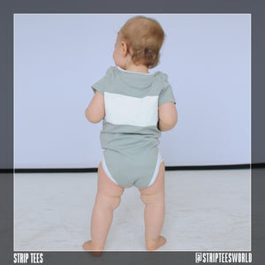 Short Sleeve Crewneck Onesie- Infant