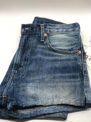 Levi's Patchwork Denim Shorts Size 27