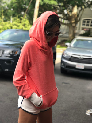 Marc by Marc Jacobs Coral Terry Hoodie