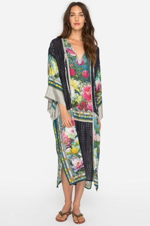 Johnny Was Heaven Silk Kimono Dress Size Small