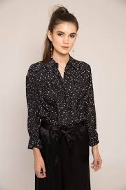 Frame Denim Star and Diamond Button Down Shirt