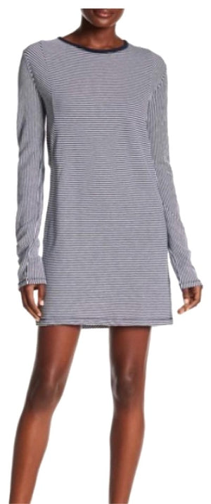 Rag & Bone Navy Striped Knit Dress