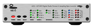 MC-6 A high performance digital audio format and sampling rate converter for AES3, AES3id and S/P-DIF