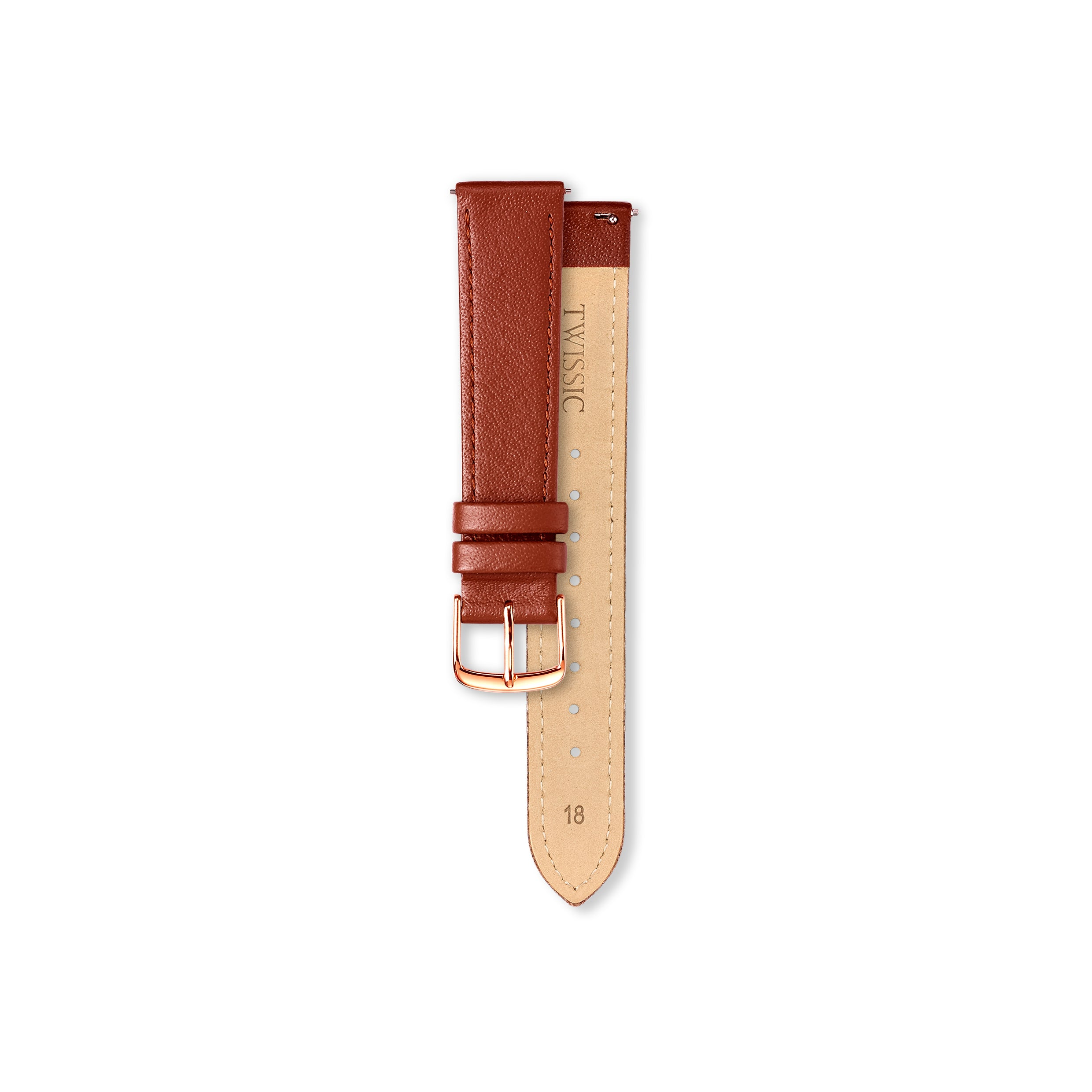 Gift Set Large (38mm/18mm) - Brick Red & Navy Straps