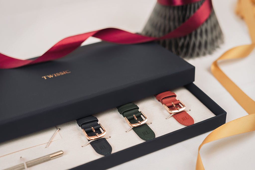 Leather Strap gift set