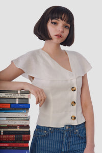 Sophia Blouse - White
