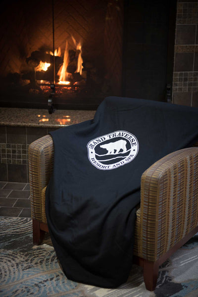 """Sweatshirt Soft"" Logo Blanket"