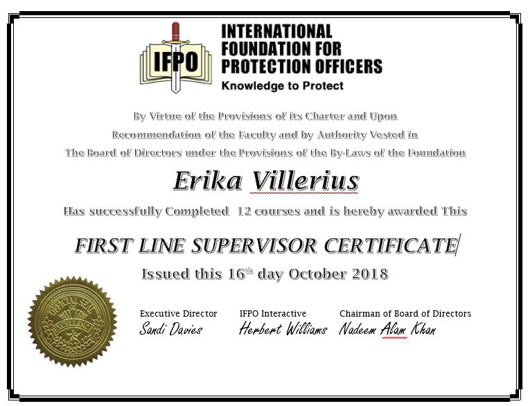 Introduction to Supervision Certificate
