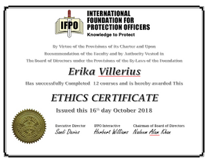 Career and Technical Education Ethics Certificate