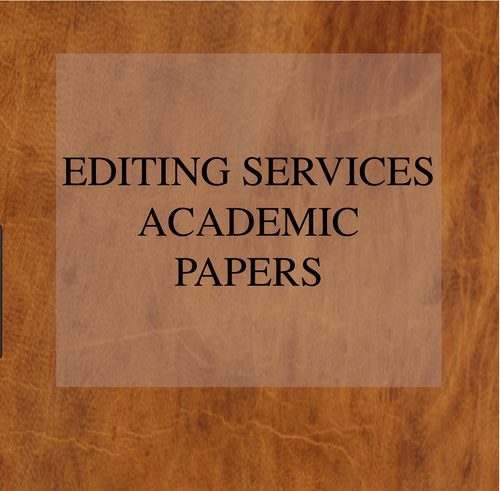 Editing Services Academic Papers