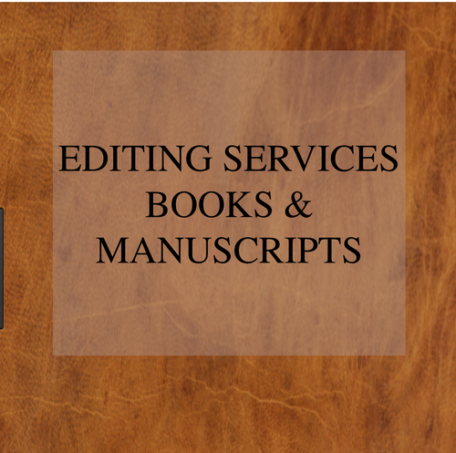 Editing Services Books & Manuscripts