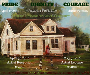 Pride, Dignity and Courage Art Exhibition Featured at Houston Museum of African-American Culture