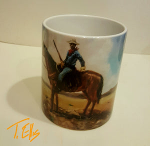 Buffalo Scout Coffee Mug