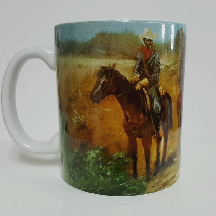 Protecting the Frontier Coffee Mug
