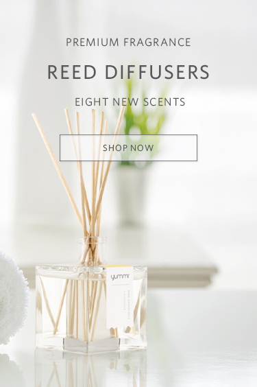 Premium fragrance reed diffusers. eight new scents. Shop Now.