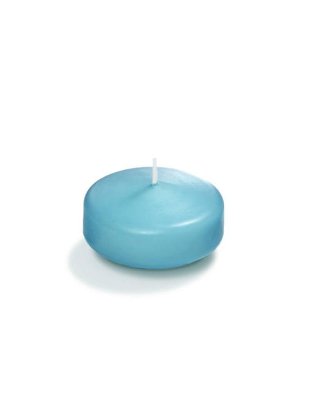 "2.25"" Floating Candles Caribbean Blue"