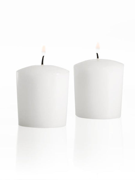 Wholesale 15hr Votive Candles White