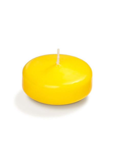"3"" Floating Candles Bright Yellow"